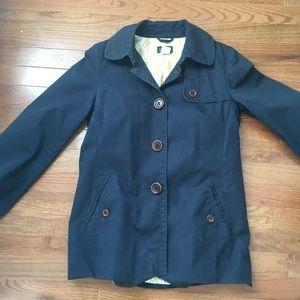 J Crew canvas lightweight pea coat